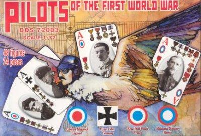 72003 - Pilots of the First World War 1/72