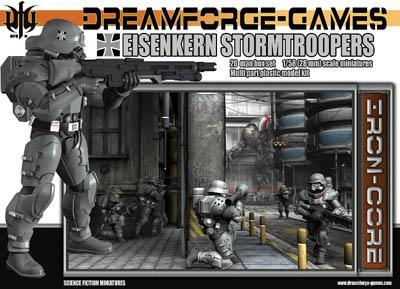 DFGIN-001 - Eisenkern Stormtroopers 28mm