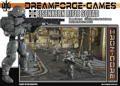 DFGIN-002 - Eisenkern Rifle Squad 28mm