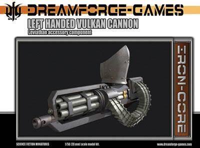 DFGLA-005 - Leviathan Left Handed Vulkan Cannon 28mm