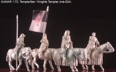 MA024 Chevaliers du Temple 1/72