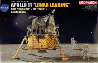 11002 - Apollo 11 Lunar Landing 1/72