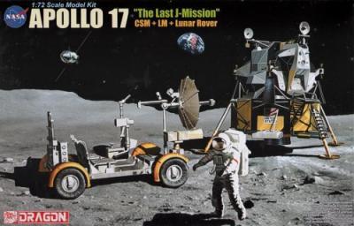 11015 - Apollo 17 'The Last Mission' 1/72