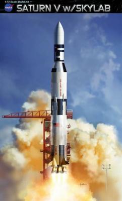 11021 - Saturn V with Skylab 1/72
