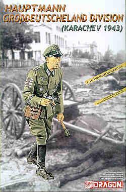 1627 - Hauptmann, Grobdeutschland Division (Karachev 1943) 1/16