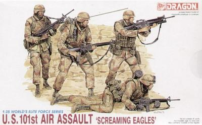 3011 - U.S. 101st Air Assualt troops 'Screamin Eagles'