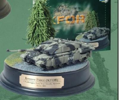 60158 - British Army Challenger II with Upgrade Armour 1/72