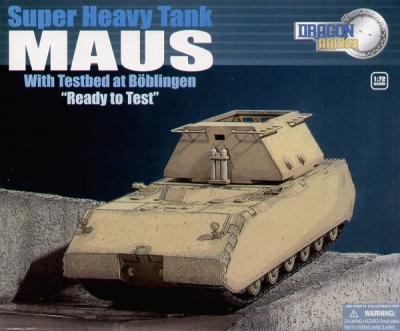 60323 - Super Heavy Maus Tank Prototype 1/72
