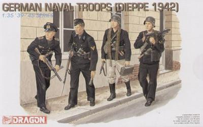 6087 - German Naval Troops Dieppe'42