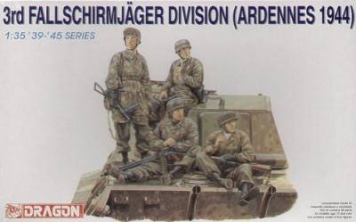 6113 - 3rd Fallschirmjager Division Ardennes 1944 part 1