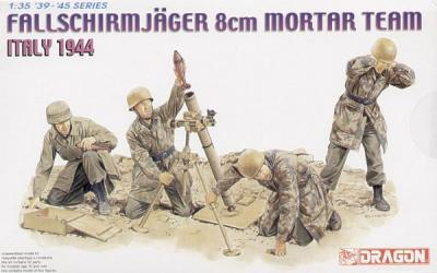 6215 - Fallschirmjager 8cm mortar Team