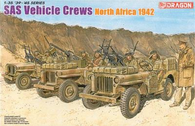 6682 - SAS Willys Jeep Crews North Africa 1942