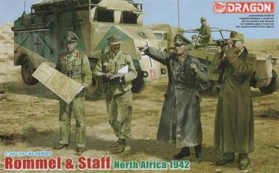 6723 - Rommel and his Staff (North Africa 1942) DAK/Afrika Korps