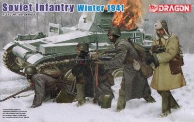 6744 - Soviet infantry winter period 1941