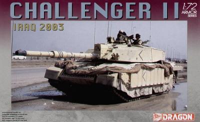 7228 - British Challenger 2 Iraq 2003 1/72
