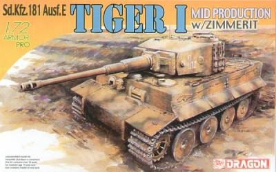 7251 - Pz.Kpfw.VI Tiger I Mid Production with Zimmerit 1/72