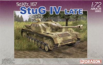 7260 - Sd.Kfz.167 Sturmgeschutz/StuG.IV Late Production 1/72