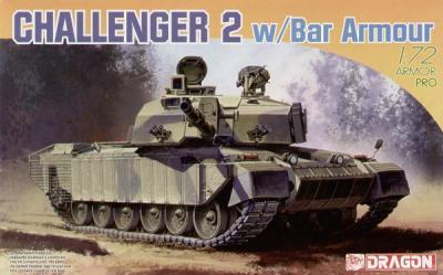 7287 - British Challenger 2 With bar armor 1/72