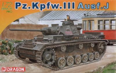 7372 - Pz.Kpfw.III Ausf.J Late Production 1/72