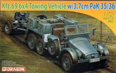 7419 - KFZ.69 6x4 Truck& 3.7CM Pak-35/3 1/72