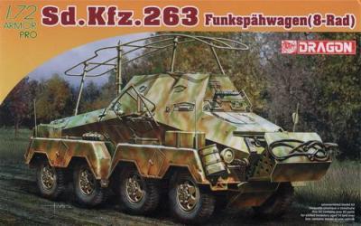 7444 - Sd.Kfz.263 Schwerer Panzer 1/72