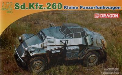 7446 - Sd.Kfz.260 Kleine Panzerfunk 1/72