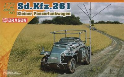7447 - Sd.Kfz.261 Kleiner Panzerfunkwagen 1/72