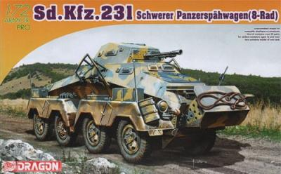 7483 - German Sd.Kfz.231 Schwerer Panzerspahwagen(8-Rad) 1/72