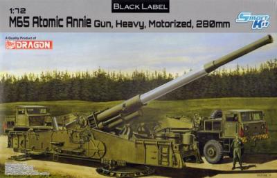 7484 - M65 Atomic Annie Gun 1/72