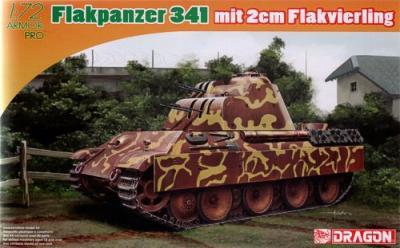 7487 - Flakpanther 341 mit 2cm Flakvierling 1/72