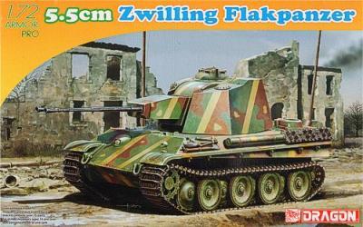 7488 - 725.5CM Zwilling Flakpanzer 1/72
