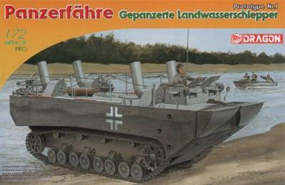 7489 - Panzerfähre Gepanzerte Landwasserschlepper 1/72