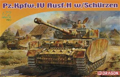 7497 - Pz.Kpfw.IV Ausf.H Back 1/72