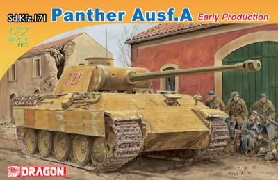 7499 - Sd.Kfz.171 Panther A Early Production 1/72