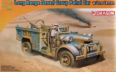 7504 - Long Range Desert Patrol Car with 2cm Gun 1/72