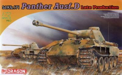 7506 - Sd.Kfz.171 Panther D Late Production 1/72