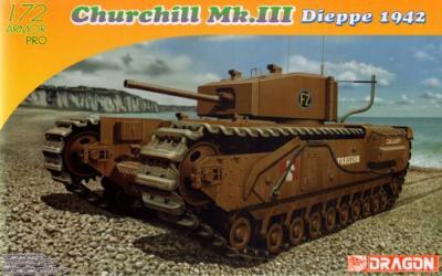 7510 - Churchill MK.III Dieppe 1942 1/72