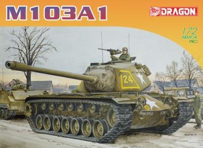 7519 - M103A1 Heavy Tank 1/72