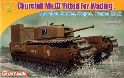 7520 - Churchill Mk.III Deep Wading Kit 1/72