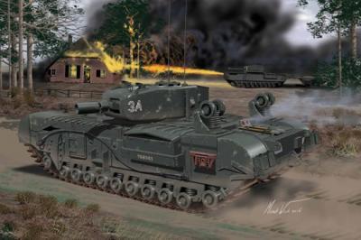 7521 - Churchill Mk.IV AVRE 1/72