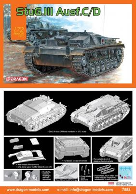 7553 - Sturmgeschutz/StuG.III Ausf.C/D 1/72