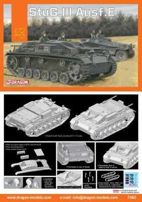 7562 - Sturmgeschutz/StuG.III Ausf.E 1/72
