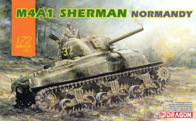 7568 - M4A1 Sherman in Normandy 1/72