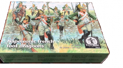 AP041 NAPOLEONIC FRENCH FOOT DRAGOONS 1/72  WATERLOO  1815