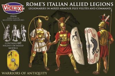 VXA0009 ROME'S ITALIAN ALLIED LEGIONS 28mm