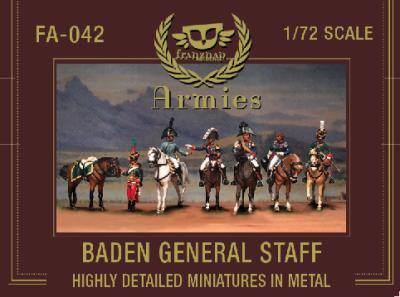 FA-042 - Baden General Staff 1/72