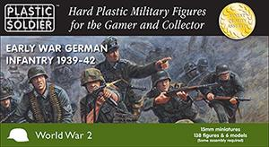 WW2015008 - Early War german Infantry 1939-1942 15mm