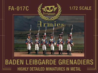 FA-017c - Baden Leib Garde Grenadiers 1/72