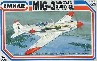 2001 - Mikoyan MiG-3 1/72