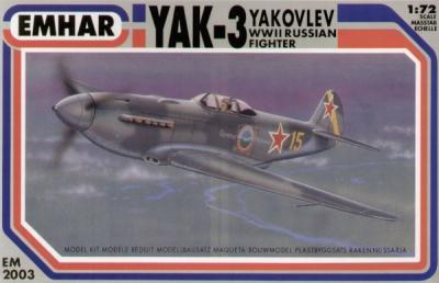 2003 - Yakovlev Yak-3 1/72